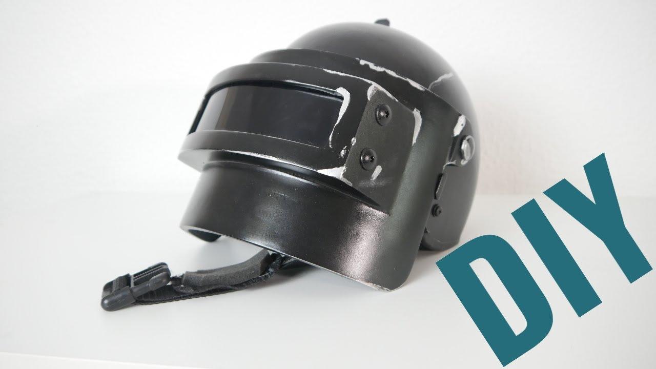 Pubg Helmet: PUBG Level 3 Helmet For Cosplay (3D Printed)