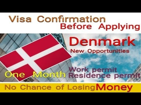 Denmark Work Permit 100 % Approval Before Applying