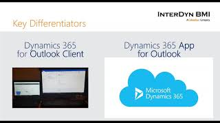 The Key Differences Between the Dynamics 365 Outlook App & Outlook Client