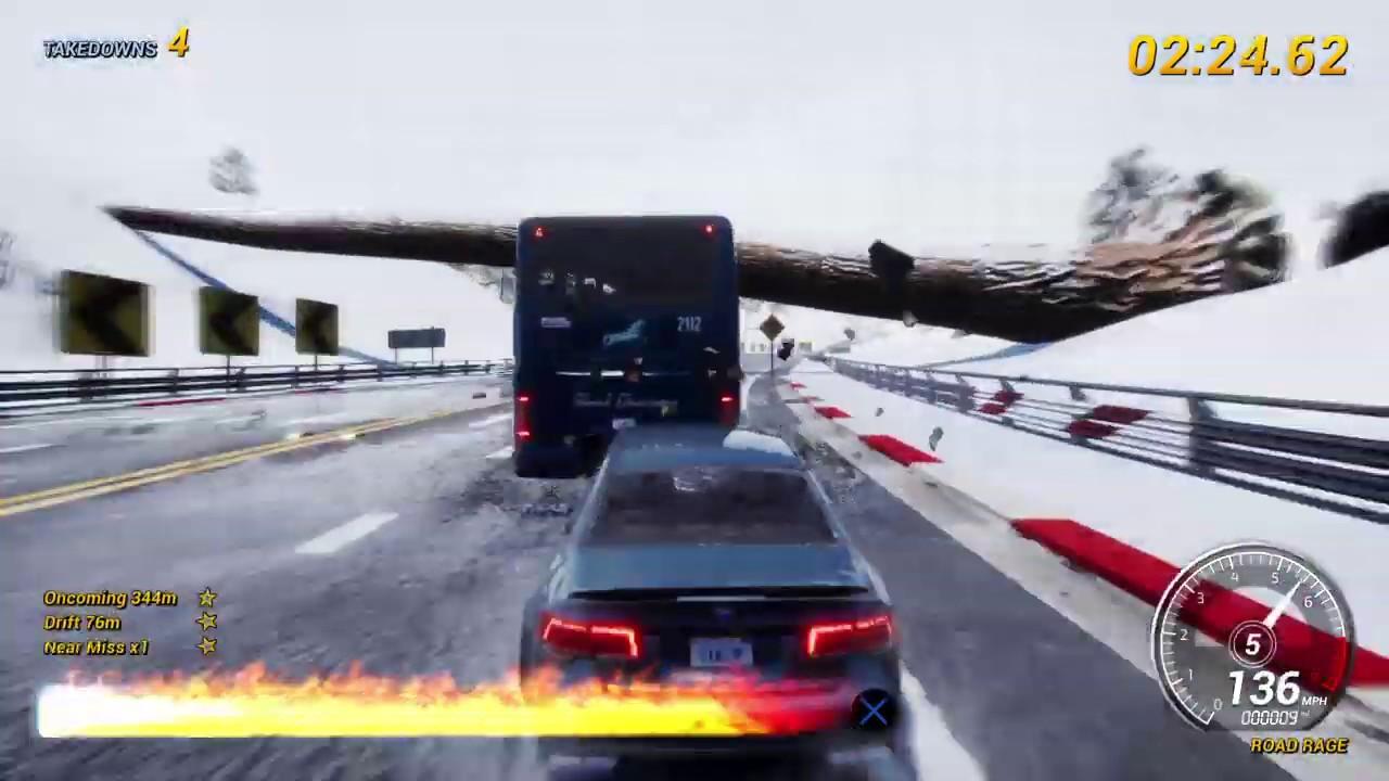 Dangerous Driving PS4 Gameplay