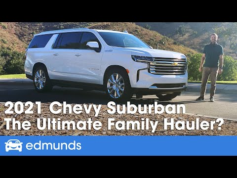 2021 Chevy Suburban Review — The Ultimate Family SUV? Redesigned for 2021! Price, Interior & More