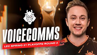 Watch Me! | LEC Spring 2021 Playoffs Round 2 vs MAD Lions Voicecomms