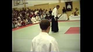 Gozo Shioda in Munich 1988 - Aikido Yoshinkan Demonstration