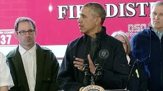 President Obama Speaks on Responding to the Mudslide in Washington State