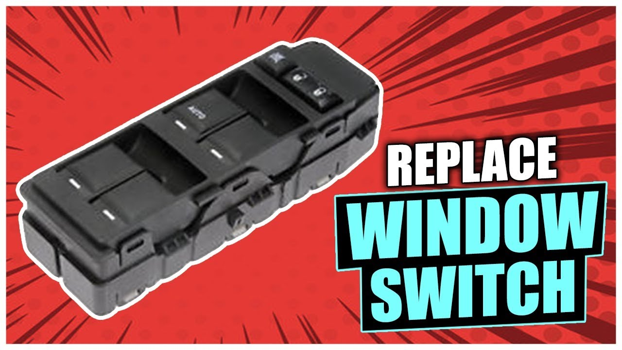 How To Replace The Power Window Switch On Dodge Dakota Durango Jeep Chrysler Vehicle Youtube