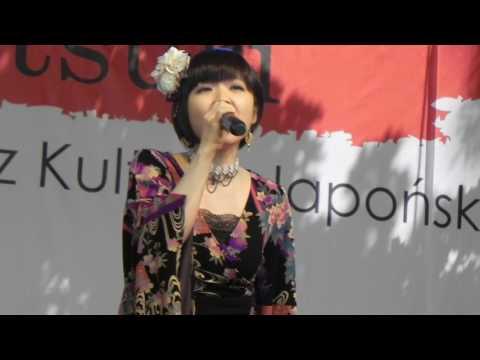 Mika Kobayashi LIVE concert in Poland, Matsuri 2017 Warsaw