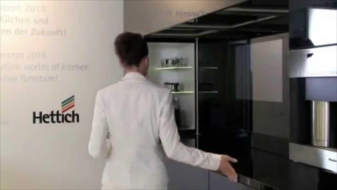hettich concept kitchen 2015 youtube