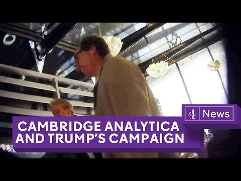 Cambridge Analytica: Undercover Secrets of Trump's Data Firm