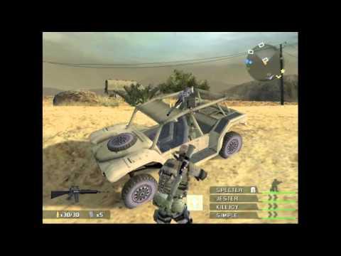 SOCOM 3: U.S Navy SEALS on PCSX2 Emulator