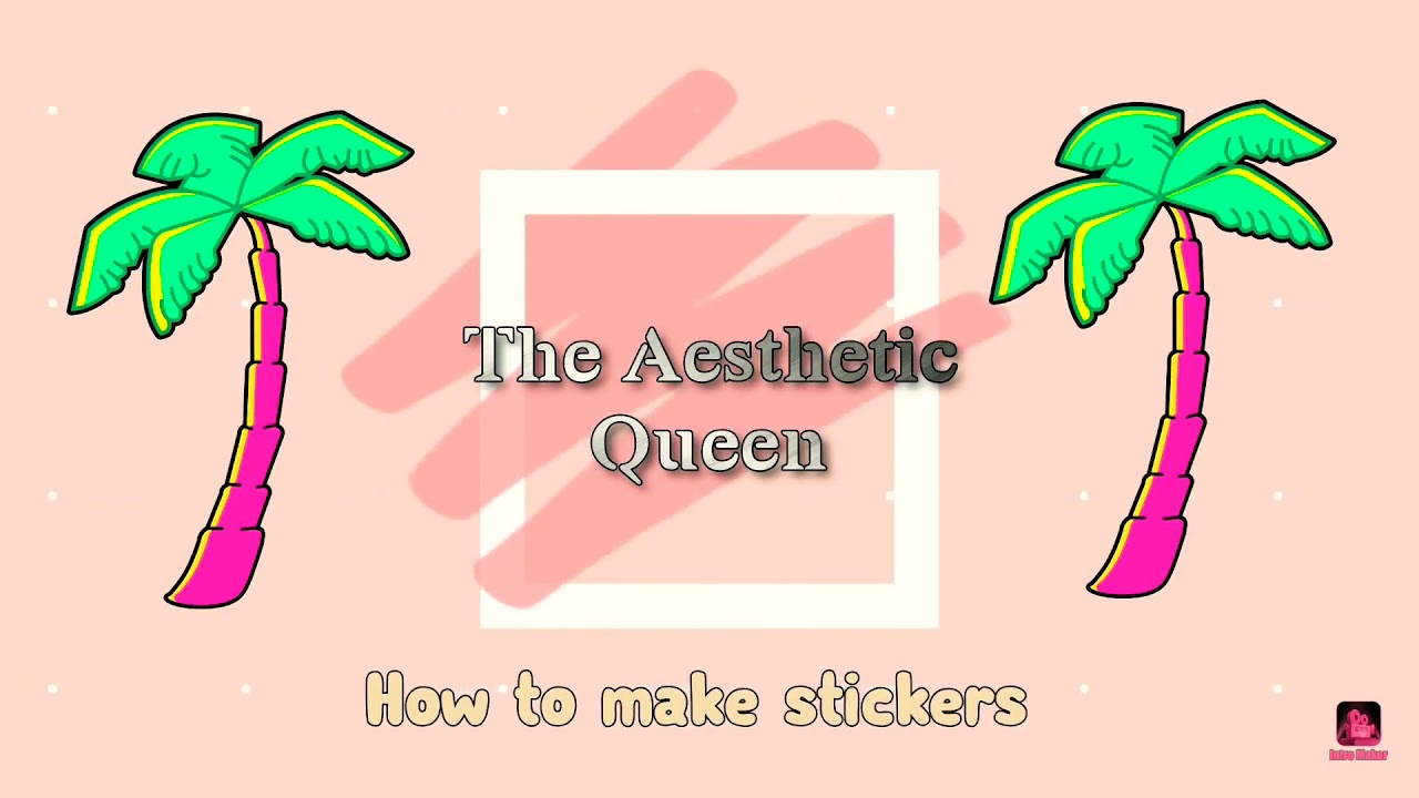 How to make easy diy aesthetic stickers 💕 - YouTube