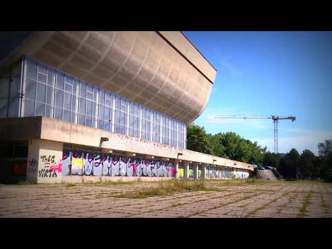 Lithuania, Vilnius Sports palace from inside | Soviet architecture