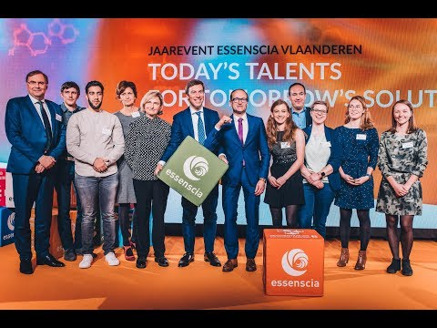 Jaarevent essenscia vlaanderen (12/11/19): Today's talents for tomorrow's solutions