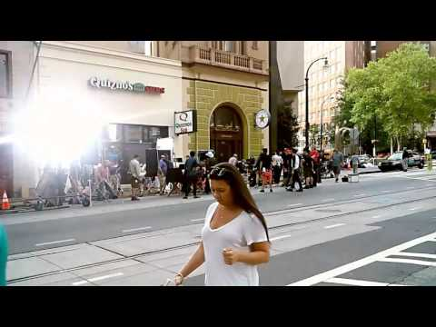 Baby Driver - behind the scenes [Downtown, Atlanta GA]