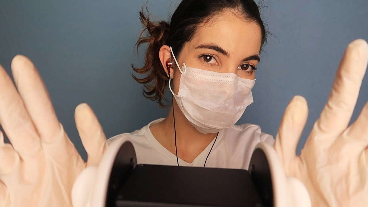 ASMR 3Dio:  Limpeza de ouvido