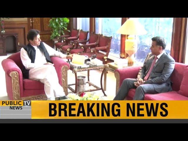DG ISI Lt General Faiz Hameed calls on PM Imran Khan