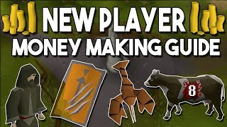 A New Player's Guide to Making Money in Oldschool Runescape! Easy F2P Money Making Methods [OSRS]