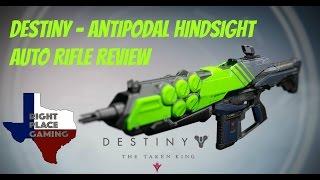 Destiny: Antipodal Hindsight Auto Rifle Review