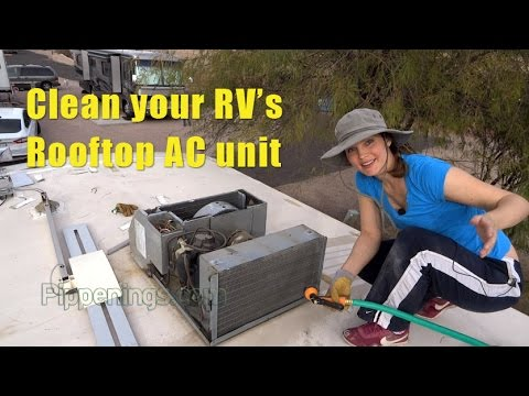 RV Living: Keeping Your Rooftop AC Unit Clean And Functioning   YouTube