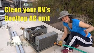 RV Living: Keeping Your Rooftop AC Unit Clean and Functioning