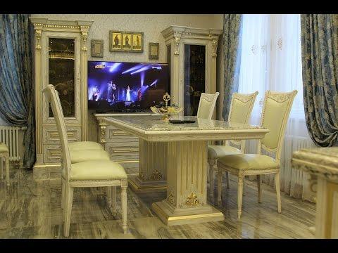 Классическая мебель в гостиную. Как это сделано. Часть 1