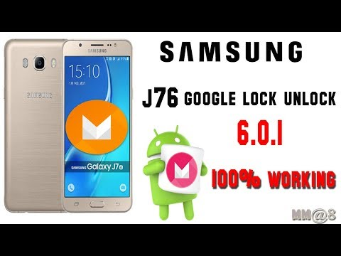 SAMSUNG J76 (marshmallow) 6.0.1 Frp Unlock Otg Cable 100%working