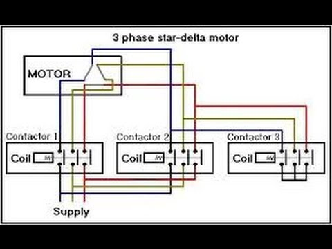 how to make star delta motor connection in english . basic method ...
