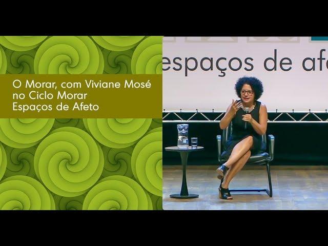 O Morar, com Viviane Mosé no Ciclo Morar  SESC SP