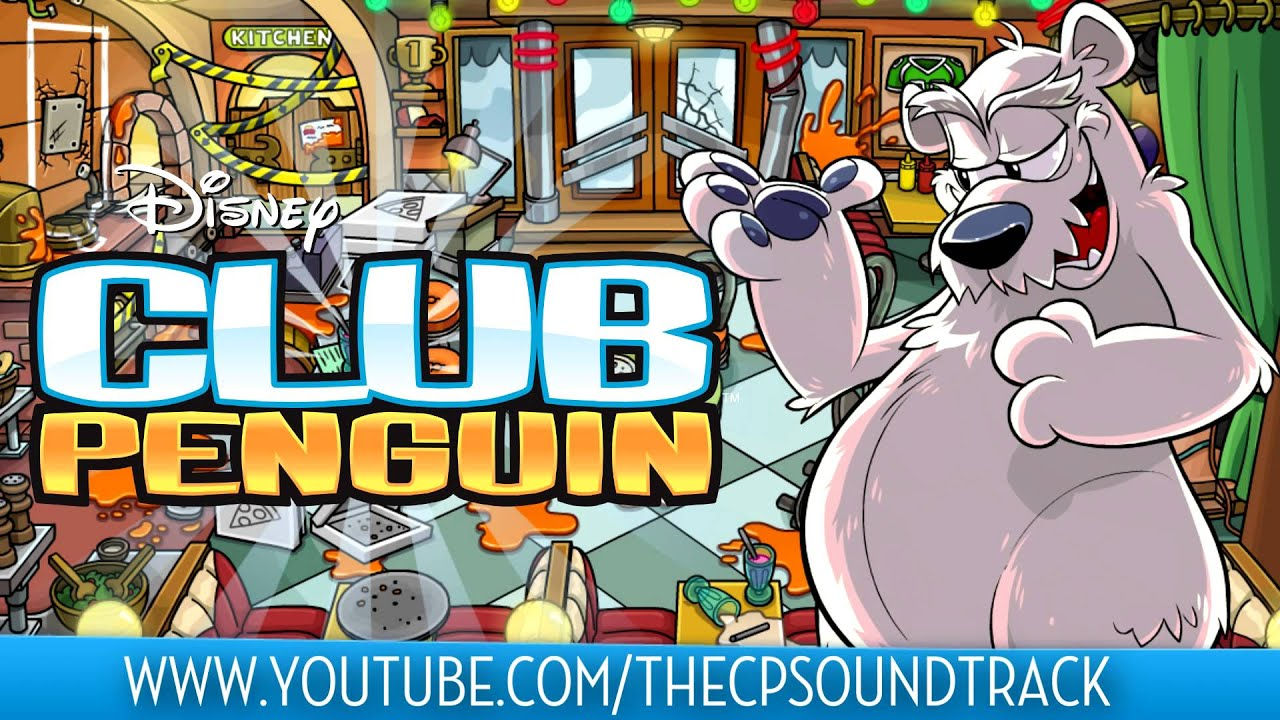 Club Penguin Music Ost Pizza Parlor Crime Scene Theme Music