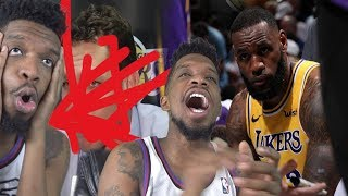 LADIES & GENTS YOUR 2019 LAKERS!!!!!! WHOOOO!!! GIVE IT UP!! LAKERS vs HAWKS HIGHLIGHTS