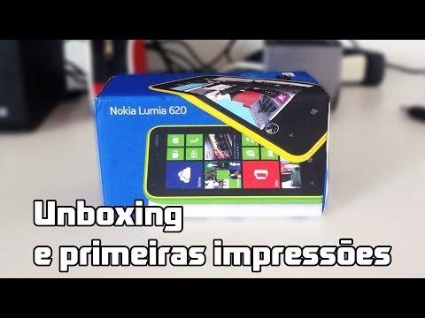 Nokia Lumia 620: unboxing e primeiras impressões