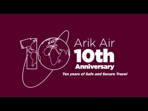 Discover Arik Air's International flagship service - Lagos to London Heathrow