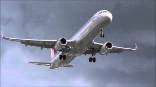 Aircraft On Short Finals To Manchester Airport 24 09 15