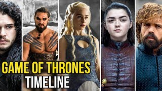 Game Of Thrones Staffel 1-7 TIMELINE | Jay & Arya