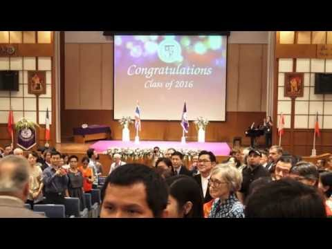 Chiang Mai International School - graduation 2016
