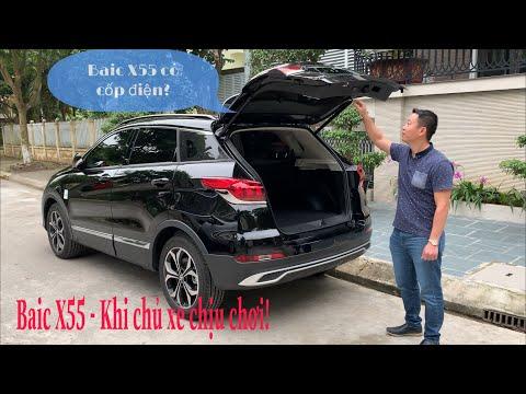 BAIC X55 - Lên đồ chơi - Sub, cốp điện và ghế điện zin theo xe!