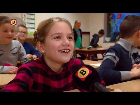 Leerlingen van basisschool Uniek in Hoeven hebben er zin in