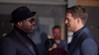 Michael Buble 'shocked' using rapper Black Thought was 'an issue'