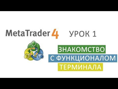 METATRADER 4 | Торговая платформа FOREX | Знакомство с Терминалом Mt4 #1