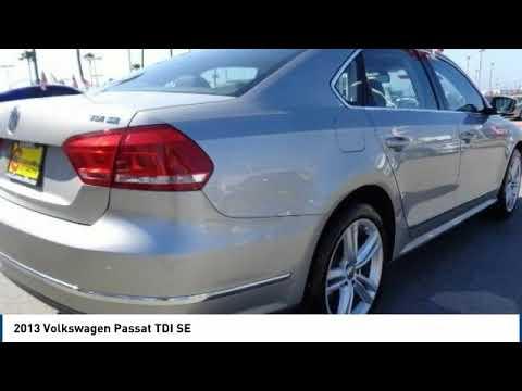 2013 Volkswagen Passat 2013 Volkswagen Passat TDI SE FOR SALE in Salinas, CA P11252