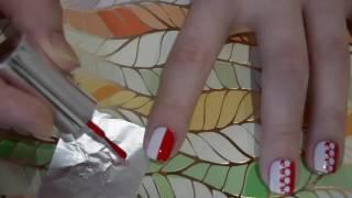 видео Как делать красивый и простой маникюр с помощью скотча