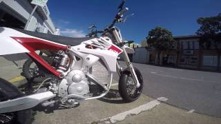 Demo Ride: Alta Redshift SM (electric supermoto)