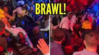 WOW! CROWD BRAWL AT BOXING MATCH JESSE HART VS JOE SMITH JR
