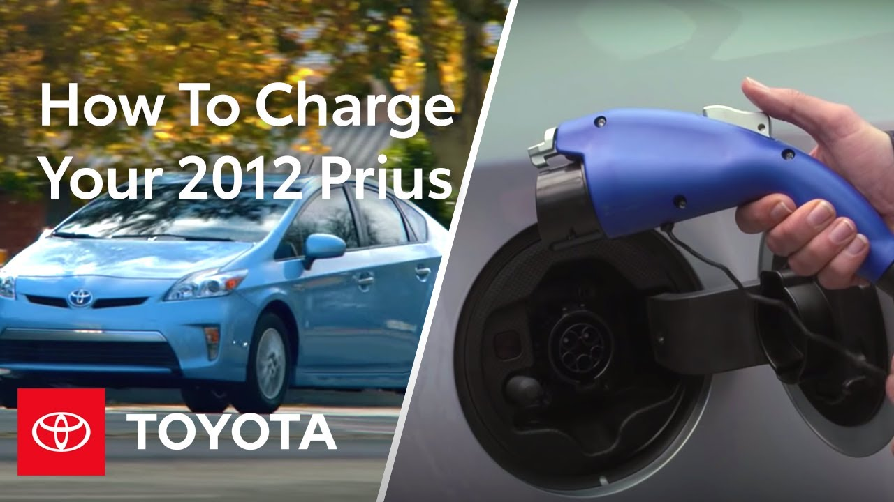 2017 Prius Plug In How To Charging Toyota