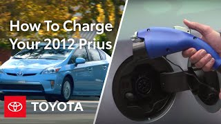 2012 Prius Plug-in How-To: Chaŗging | Toyota