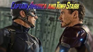 Capitan America y Tony Stark (Subtitulado)