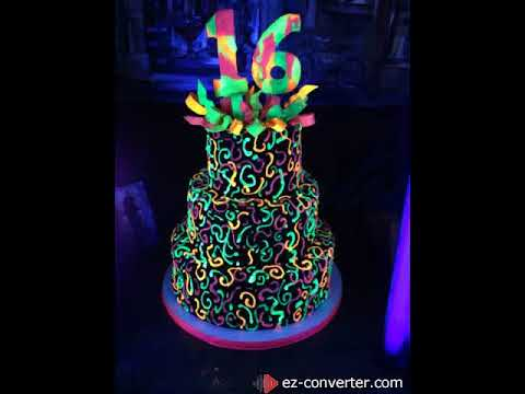 Glow Happy Birthday