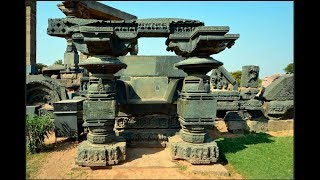 Impossible Warangal Hindu Temple. Unthinkable skill of stone processing First Part