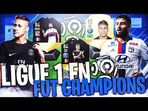 FIFA 18 - EN FUT CHAMPION AVEC UNE LIGUE 1 !