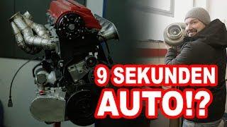 9 Sekunden Auto? 5 Zylinder Madness - Audi 5 Zylinder Turbo 1200 ps  Gepfeffert bei Audiland carporn