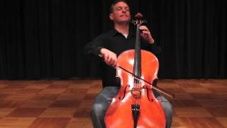 Cello Instruction: #57 Minuet No 2 Performance - Suzuki Cello Book 1